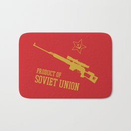 Dragunov SVD (Product of SOVIET UNION) Bath Mat
