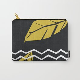 Meraki Fall [Gold Noir] Carry-All Pouch