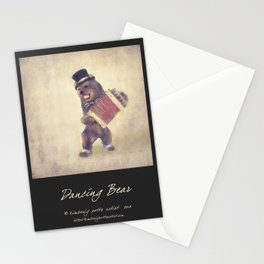 Dancing Bear Stationery Cards
