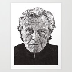 Rutger Art Print