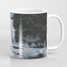 Frozen Multnomah Falls Coffee Mug