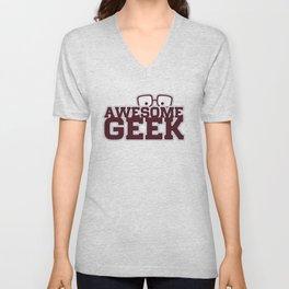 Geek Unisex V-Neck