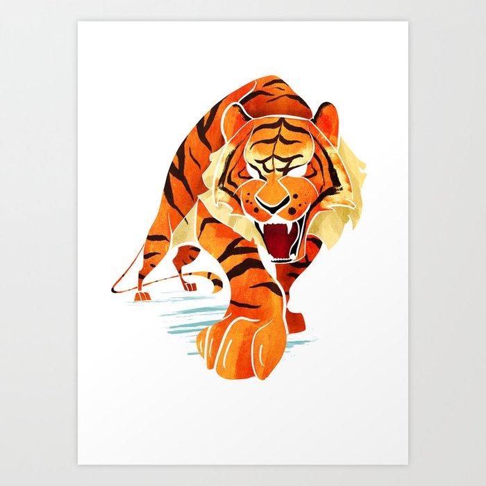 Tiger Kunstdrucke