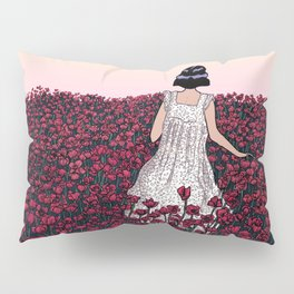 Field of Poppies | Colour Version Pillow Sham