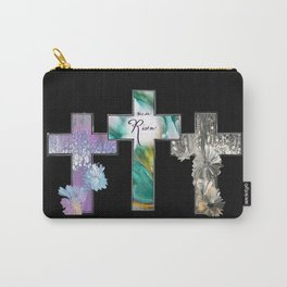 Three Crosses Carry-All Pouch
