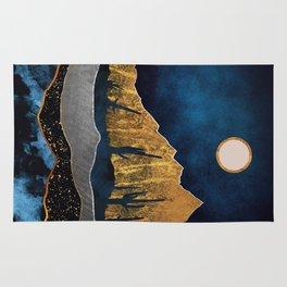 Midnight Desert Moon Rug