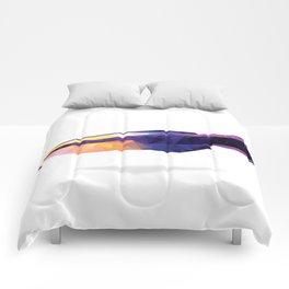 Geometric Abstract Hawaiian Royal Cleaner Wrasse Fish  Comforters