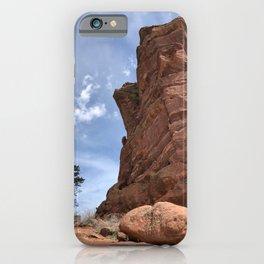 Big Tree Bigger Rock iPhone Case