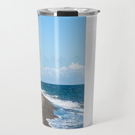 Sea Kayak Pointed East Travel Mug