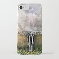 musa iPhone & iPod Cases featuring MUSA ENFERMA by Alex Usquiano