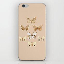 pale moths iPhone Skin
