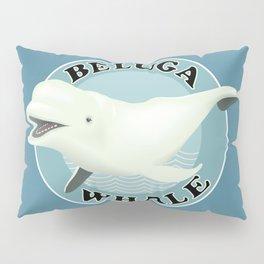 Beluga Whale Pillow Sham