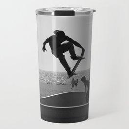 Skateboard Freedom Travel Mug