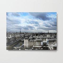 Vue de Notre Dame - Paris Metal Print
