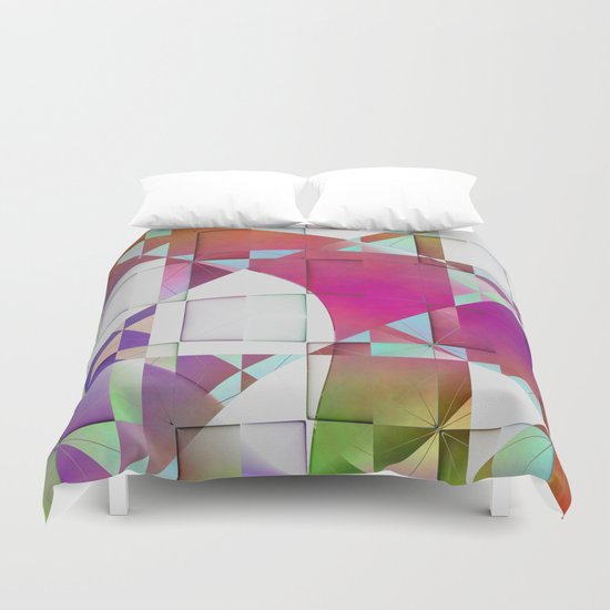 Multicolored abstract no. 64 Duvet Cover