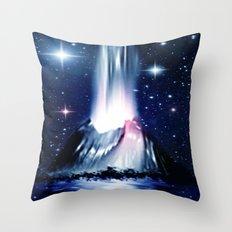 Eruption. Throw Pillow
