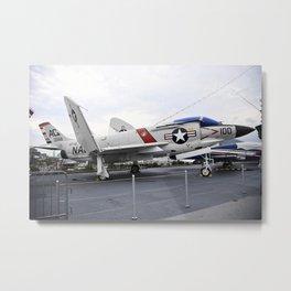 1960 McDonnell F-4N Phantom II Metal Print