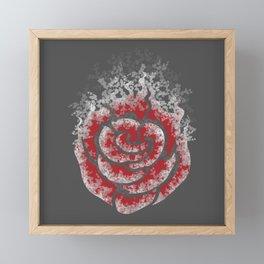 Echo of a Rose Framed Mini Art Print