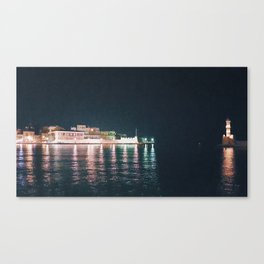 Nights in Old Town Canvas Print