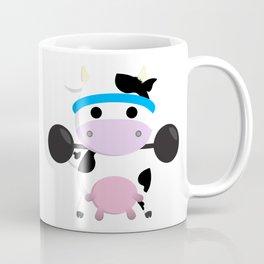 TeeTee - The Aerobic Cow #04 Coffee Mug