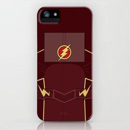 Superheroes phone | The Flash #2 version iPhone Case