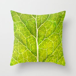 Photosynthesis Throw Pillow