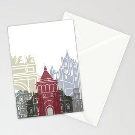 Palermo skyline poster Stationery Cards