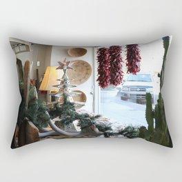 Christmastime Cacti Rectangular Pillow