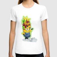 minion T-shirts featuring Minion by Siney