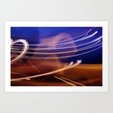 Vapour Trails Art Print