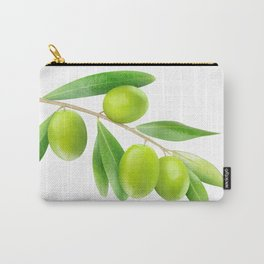 Olive branch Carry-All Pouch