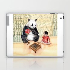 Playing Go with Panda Laptop & iPad Skin