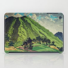 Crossing people's land in Iksey iPad Case