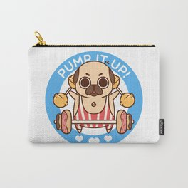 Pump It Up, Puglie! Carry-All Pouch