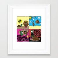 thanksgiving Framed Art Prints featuring Thanksgiving by Chris Piascik