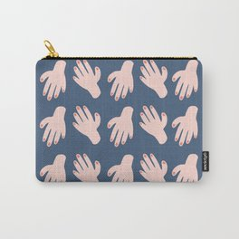 Hands on Hands on Hands Carry-All Pouch