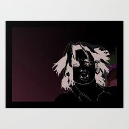 Portrait illustration Art Print