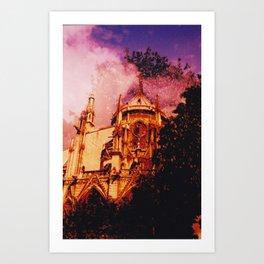 Notre Dame // Paris Art Print