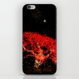 different kind of christmas tree iPhone Skin