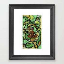 Yaci, Mother of Nature Framed Art Print