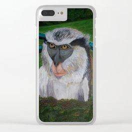 Friendly Grenada Clear iPhone Case