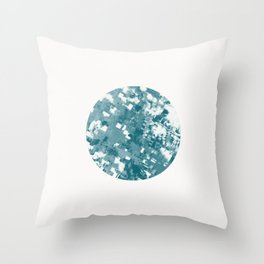 Cool, Calm & Delicate Throw Pillow