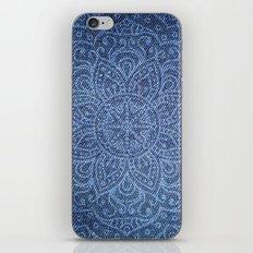 Mandala on Blue Jeans iPhone & iPod Skin