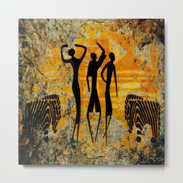 African Art Metal Print
