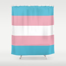 Trans Pride Shower Curtain