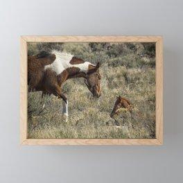 Her Precious Framed Mini Art Print