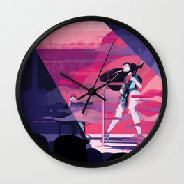 Haitus Kaiyote Wall Clock
