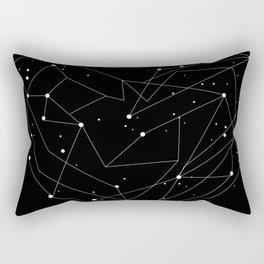 Constellations of the Heart Rectangular Pillow