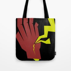 Stopping Lightning Tote Bag