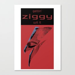 ziggy Canvas Print